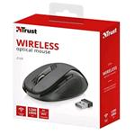 MOUSE WIRELESS NERO OPACO TRUST