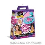 "KIT MANICURE ""CRAZY CRIC CRAZY NAILS"" PER DECORARE UNGHIE 36PZ"