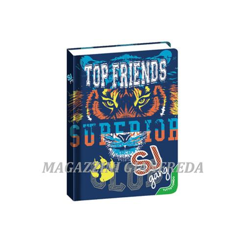 DIARIO AGENDA 10 MESI SJ GANG TOP FRIENDS