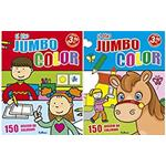 "LIBRO DA COLORARE - ""IL MIO JUMBO COLOR"""