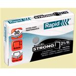 PUNTI CUCITRICE RAPID 21/6 super strong (1000 punti)