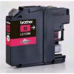 CARTUCCIA BROTHER INK JET MAGENTA   LC123M  ( 600 COPIE) ORIGINALE